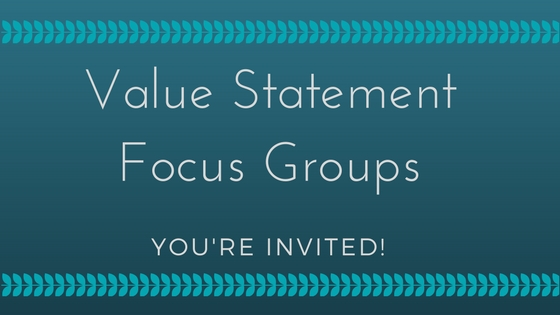 HoW Focus Group Dates